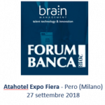 Brain Management protagonista delle tavole rotonde di Forum Banca 2018